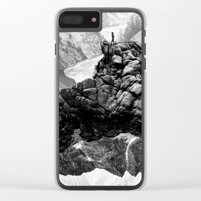 I will come to your river Clear iPhone Case