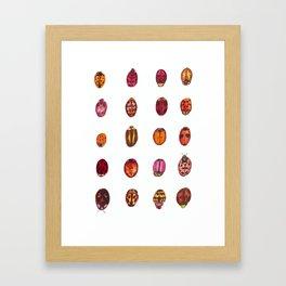 Lady Bugs Framed Art Print
