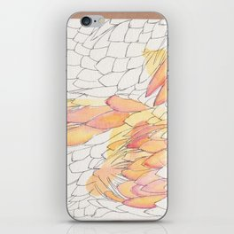 Protea Petals iPhone Skin