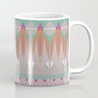 the mountains are calling Mugs featuring The Mountains Are Calling by NOxLA