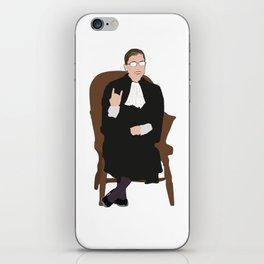 R.B.G: Judicial Badass iPhone Skin