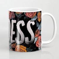 goddess Mugs featuring Goddess by Jillian Adel