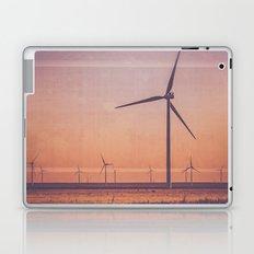 Route 66 Road Trip - Windmills at Dawn Midpoint Adrian TX Laptop & iPad Skin
