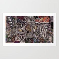 Headspace (Still Frame 2) Art Print