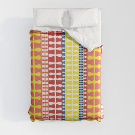 Orla Keily inspired Mid-century design Duvet Cover