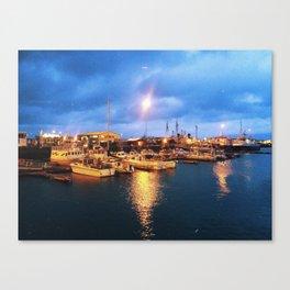 Old Harbor, Reykjavik, Iceland Canvas Print