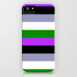 Genderqueer Pride Flag v2 iPhone Case