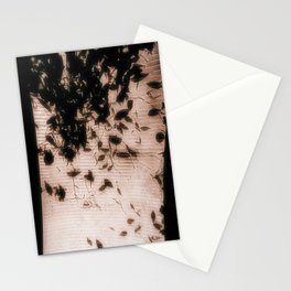 Leaves from below  Stationery Cards