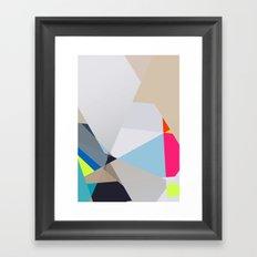 Neon sign 3/3 Framed Art Print