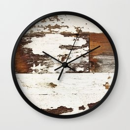 Worn Wall Clock