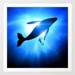 OCEAN TRIP VII Art Print