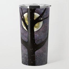 Winter Ravens Travel Mug