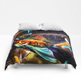 Meeting of Styles Comforters