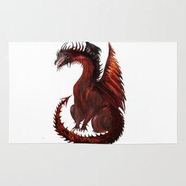 Dragon Abstract Challenger Rug