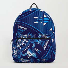 buffalo Gathering blue Backpack