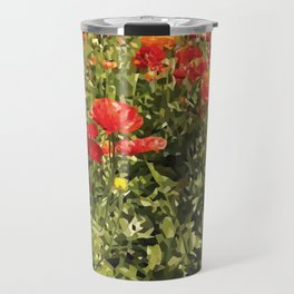 Flower Fields Travel Mug