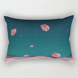 Luna Diamonds Rectangular Pillow