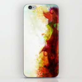 Abstract Splats by Friztin iPhone Skin