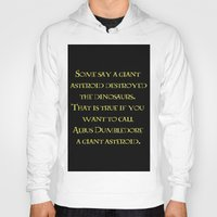 dumbledore Hoodies featuring Albus Dumbledore Quotes  by Cats. Comics. Curves.