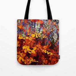 pluie d'automne/fall's rain Tote Bag