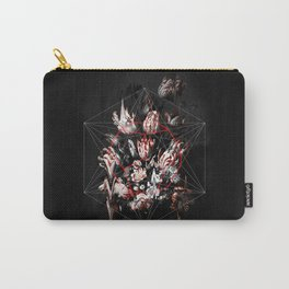 Dodecahedron Flowers Carry-All Pouch