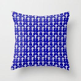 Jerusalem Cross 6 Throw Pillow