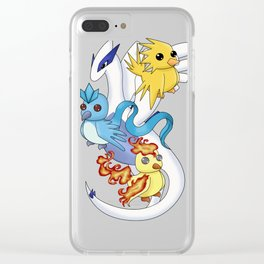 Team Harmony Clear iPhone Case