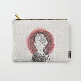 Japanese flag and Geisha Carry-All Pouch