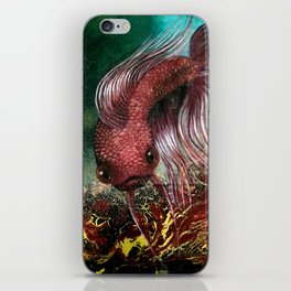 Bird the Betta Fish iPhone Skin