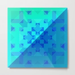 Cubic Art Metal Print