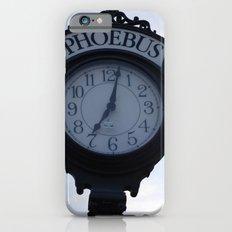 Einstein's clock is exactly one minute... iPhone 6 Slim Case