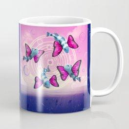 Flight of the Butterfly Fish Coffee Mug
