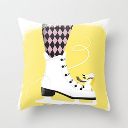My heart will go on Throw Pillow