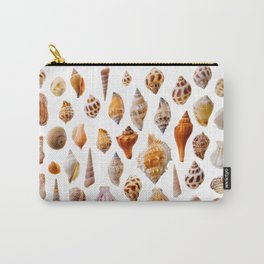 Assorted seashells Carry-All Pouch