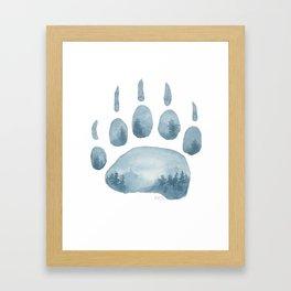 Misty Mountain Hop Framed Art Print