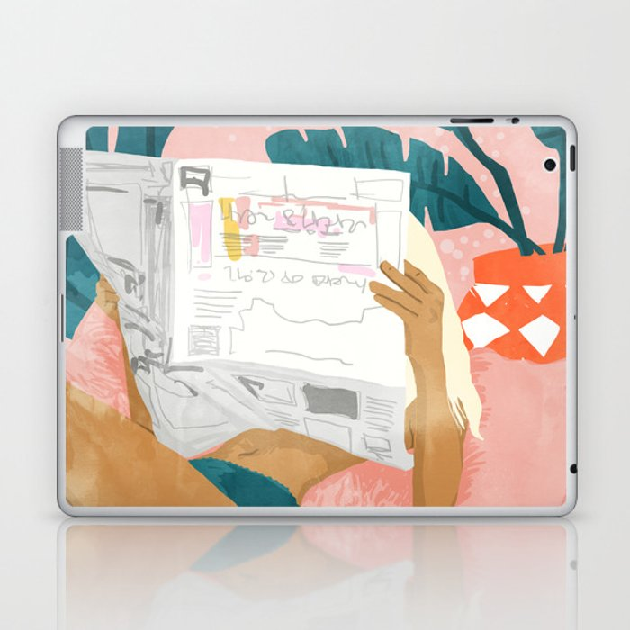 Morning News Laptop & iPad Skin