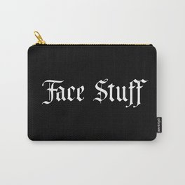 Face Stuff Carry-All Pouch