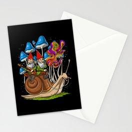 Mushroom Gnomes Stationery Cards