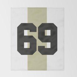 69 race Throw Blanket
