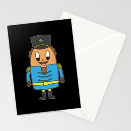 Nutcracker Egg Stationery Cards