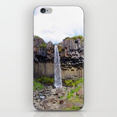 svartifoss iPhone & iPod Skin