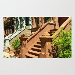 New York Manhattan Upper West Side Townhomes Rug