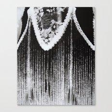 Lamp Negative Canvas Print