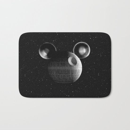 That's no moon... Disney Death Star Bath Mat