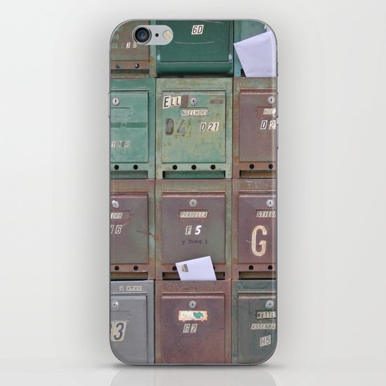 Mailboxes I iPhone & iPod Skin
