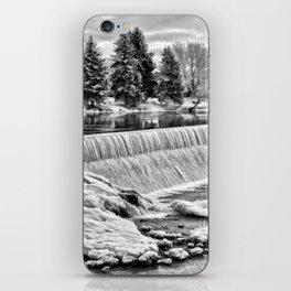 Idaho Falls - Winter Day iPhone Skin