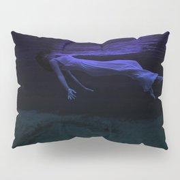 Rising To The Top : Deep Blue Water Photograph Pillow Sham