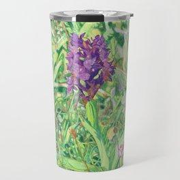 Marsh Orchid Travel Mug