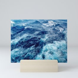 Rough Ocean Waves Mini Art Print