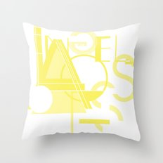 Los Angeles Throw Pillow